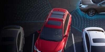 2019 Nissan Pathfinder Rear Cross Traffic Alert