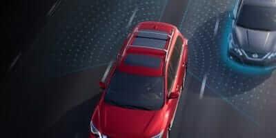 2019 Nissan Pathfinder Blind Spot Warning