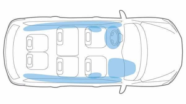 2019 Nissan Pathfinder Advanced Air Bag System