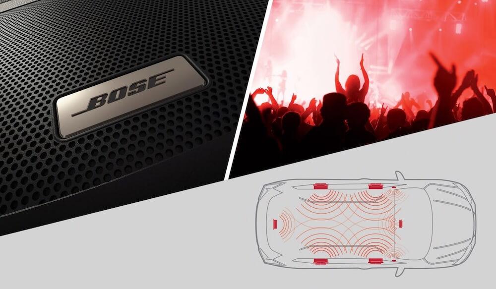 2019 Nissan Rogue Bose Premium Audio System
