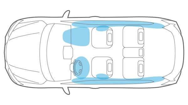 2019 Nissan Rogue Nissan Advanced Air Bag System