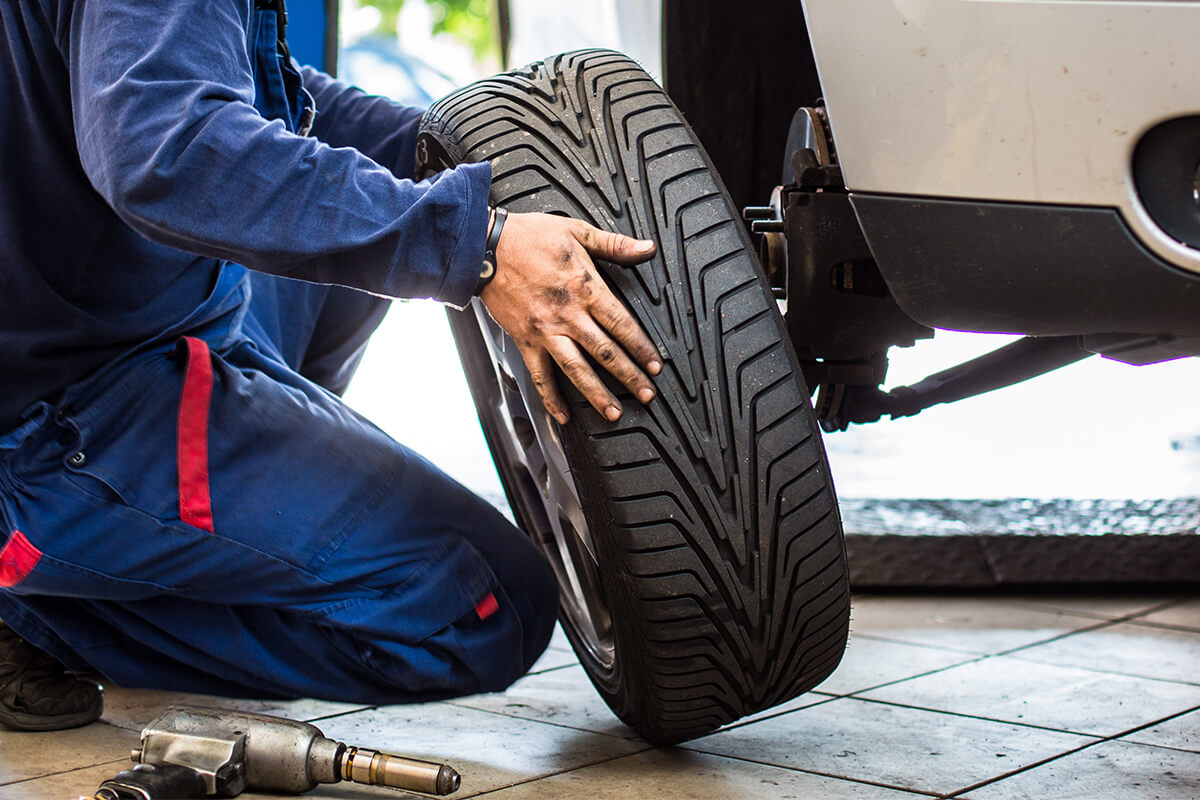4 Wheel Alignment and Tire Rotation – $99.95