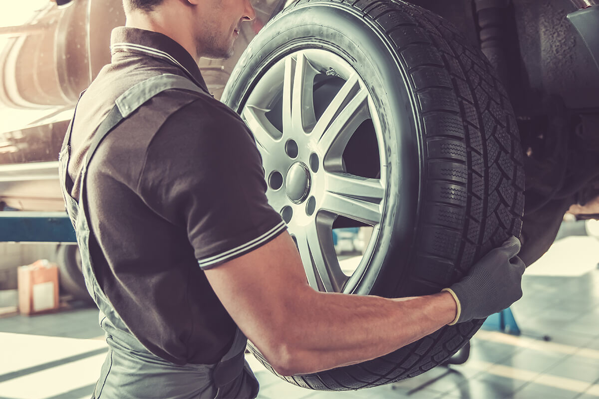 4 Wheel Alignment and Tire Rotation