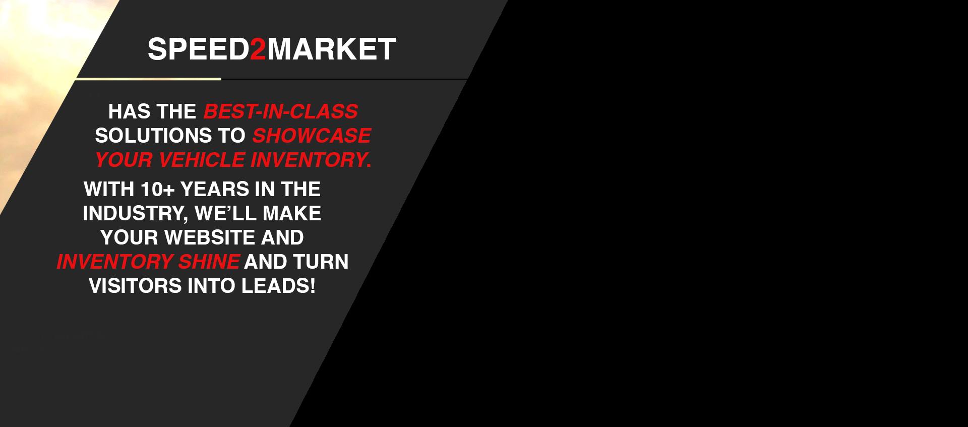 Speed2Market Info