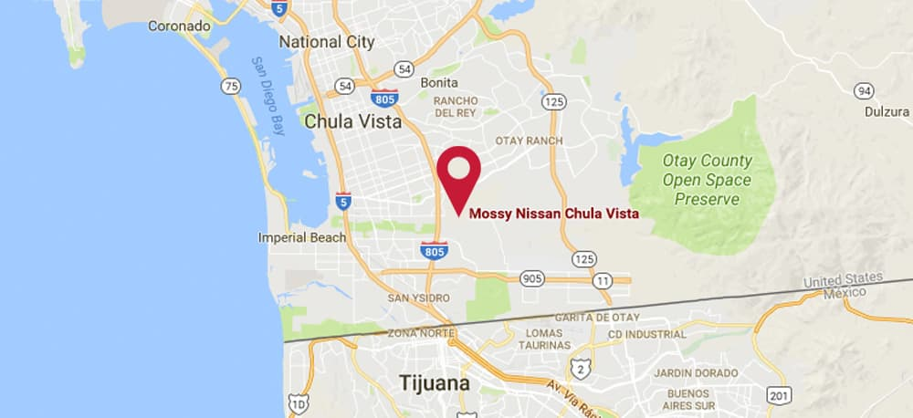 Kearny Mesa Map on