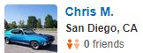 Vista, CA Yelp Review