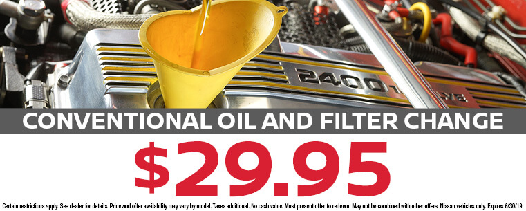 Conventional Oil and Filter Exchange