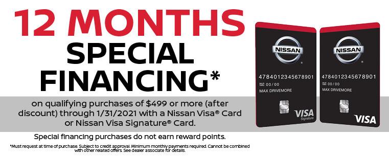 Service Credit Card