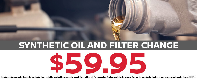 Synthetic Oil and Filter Exchange