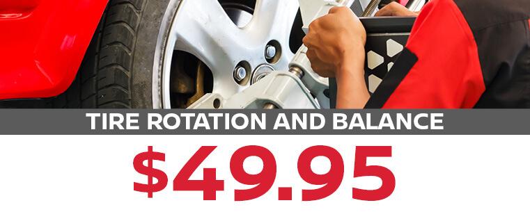 Tire Rotation and Balance
