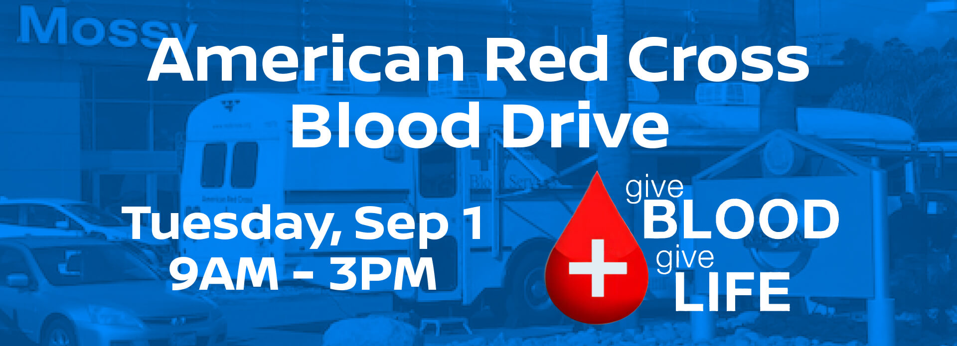 Blood Drive Header