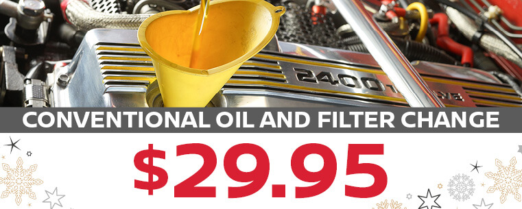Conventional Oil and Filter Change