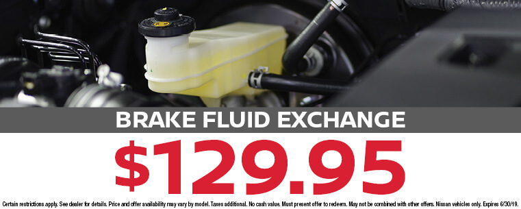 Brake Fluid Exchange