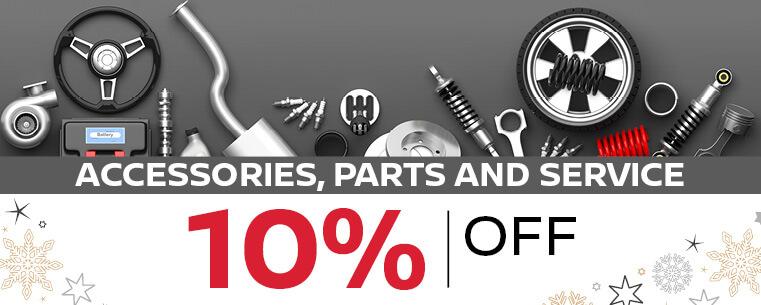 Accessories, Parts & Service