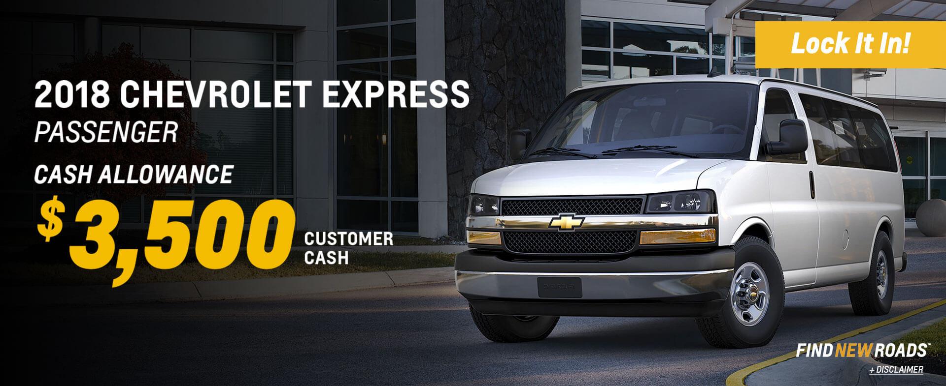 Express Vans SRP
