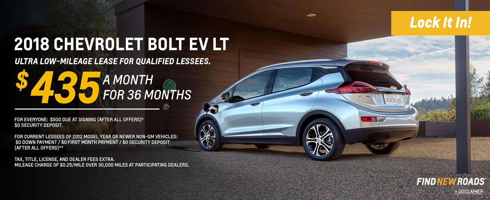 Bolt EV SRP