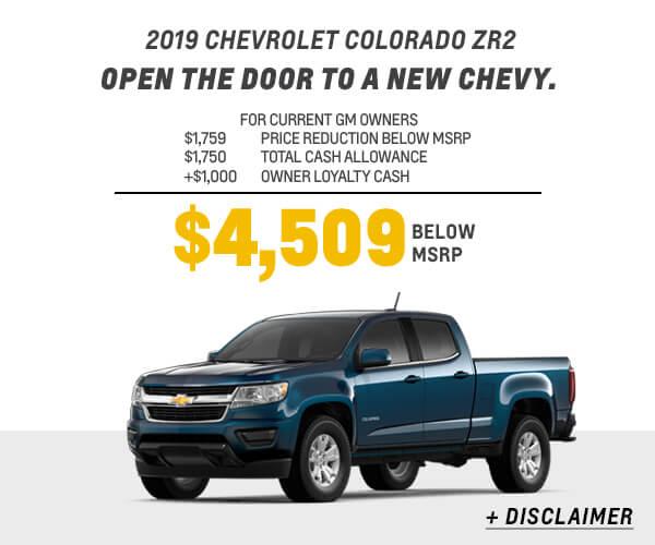 2019 Colorado Cash Allowance