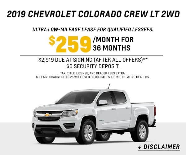 2019 Colorado Lease