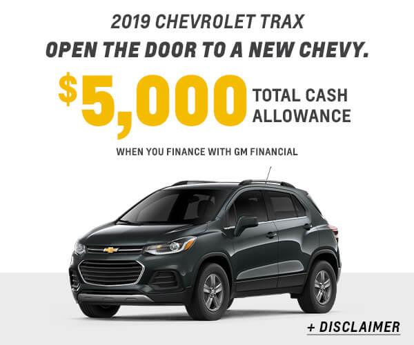 2019 Trax Cash Allowance