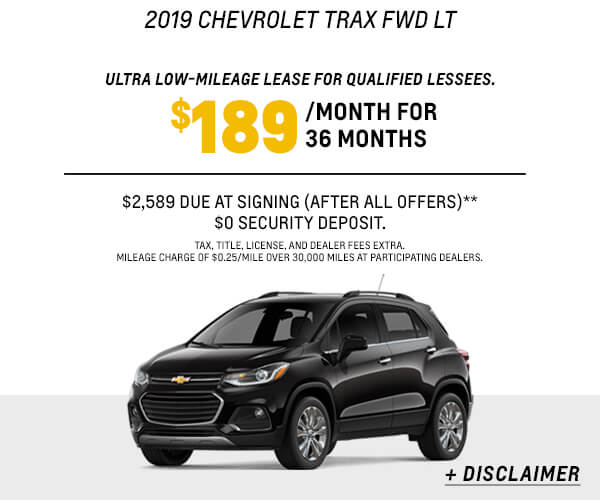 2019 Trax Lease