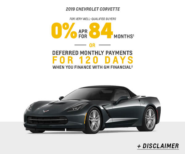 Corvette Cash Allowance