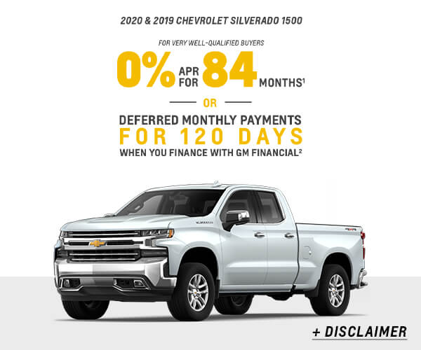 All New Silverado 1500 Finance or Stack Offer