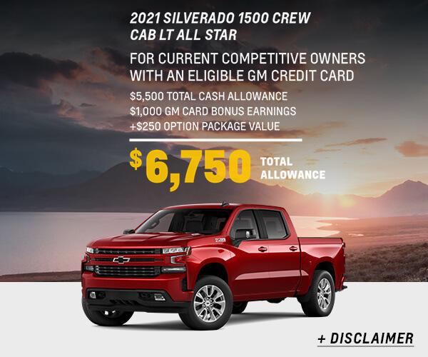 Silverado 1500 Finance