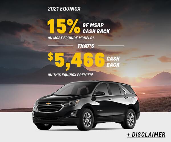 Equinox Cash Allowance