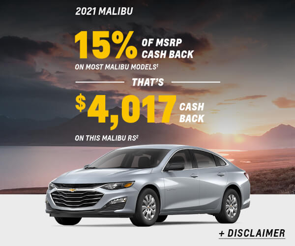 Malibu Cash Allowance