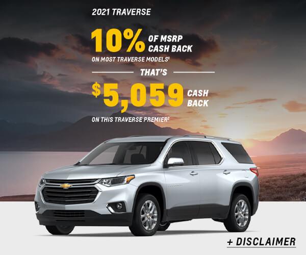 Traverse Cash Allowance