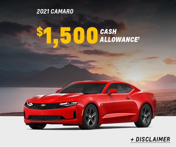 Camaro Cash Allowance