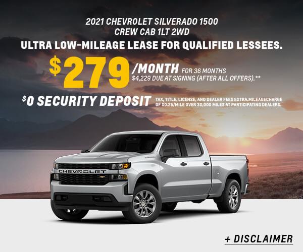 Silverado Lease