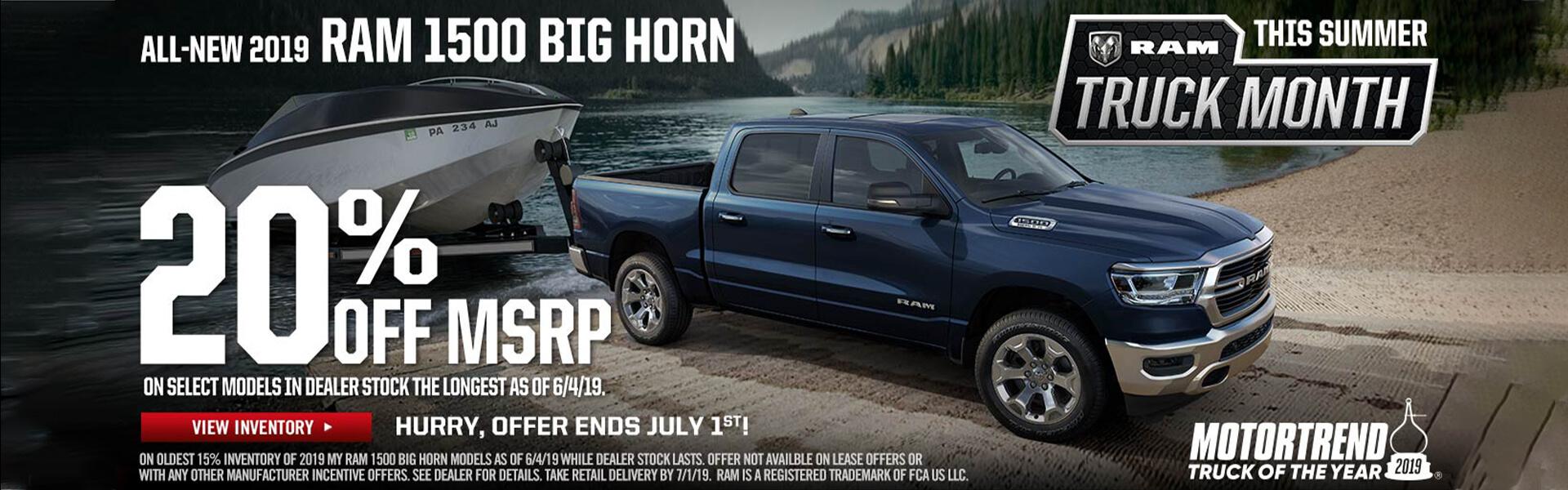 RAM 1500 Big Horn