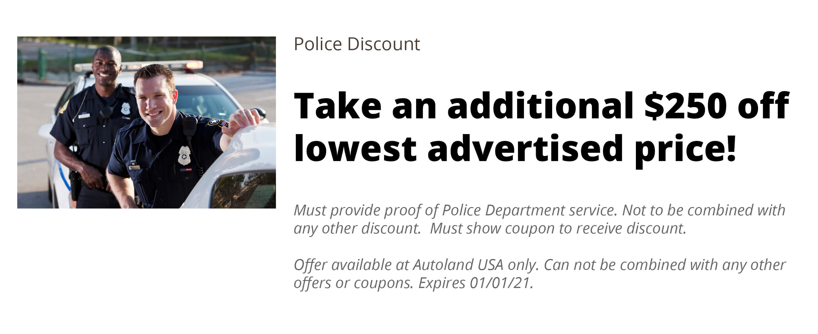 Police Discount