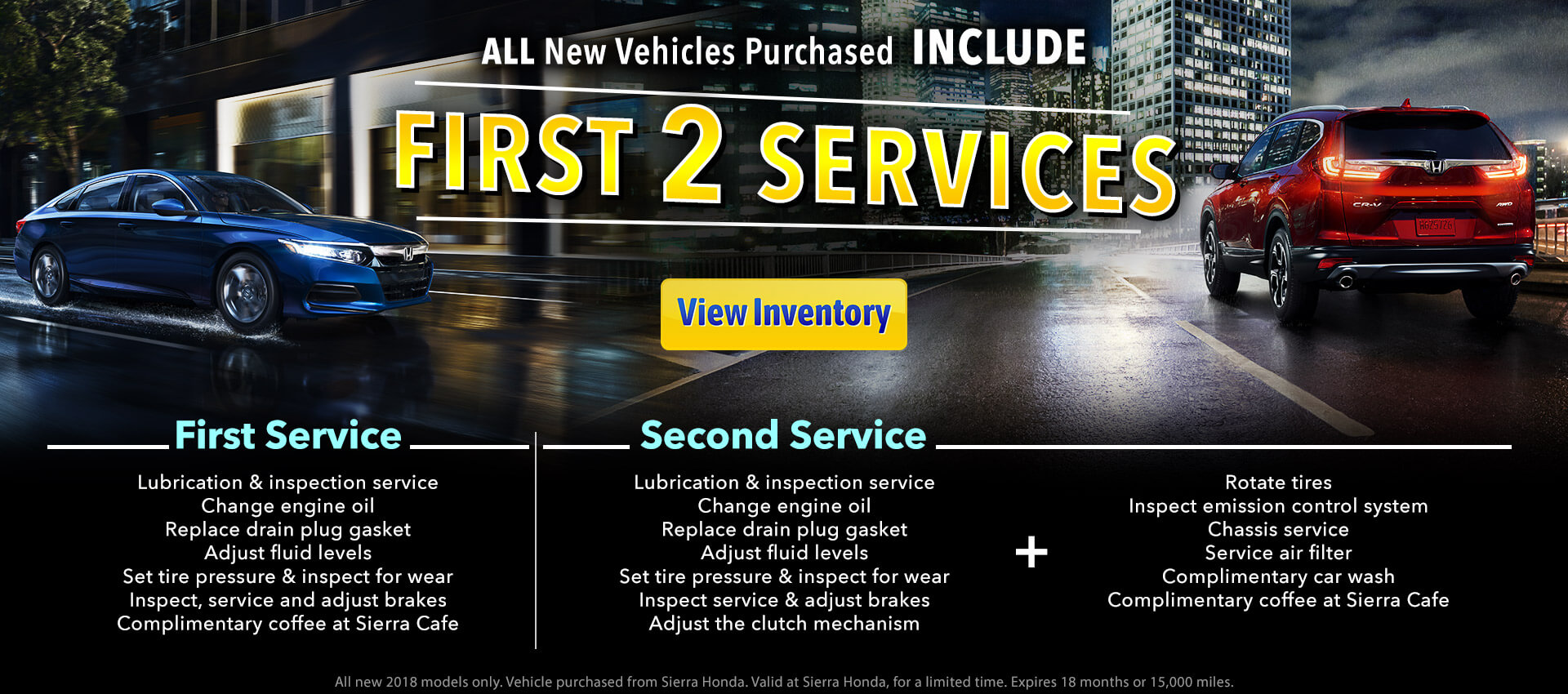 New Vehicle Service