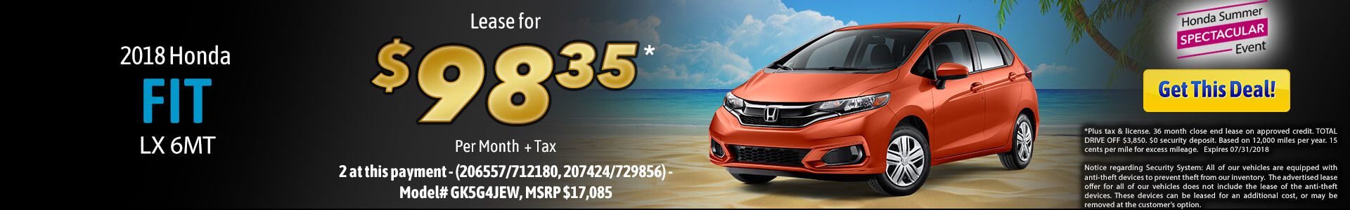 Fit Lease $98.39