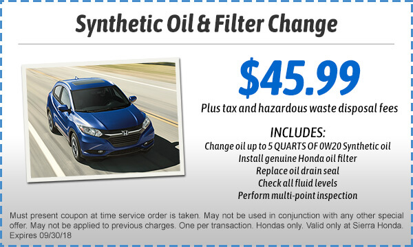 Oil Change $49