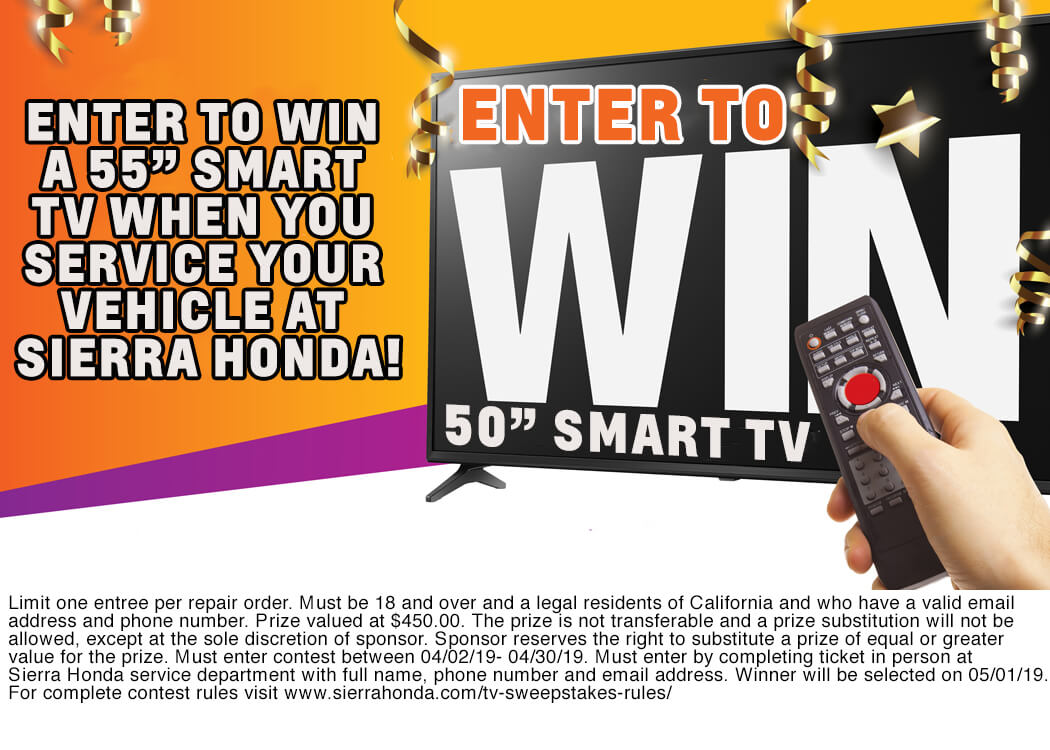 TV Contest - Sierra Honda