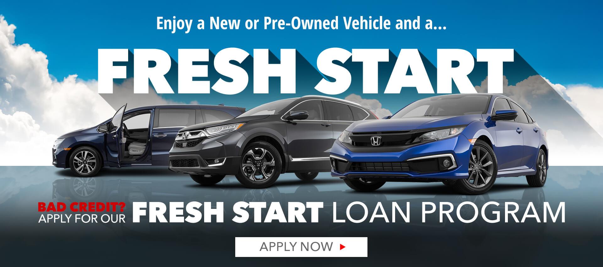 Fresh Start - Sierra Honda