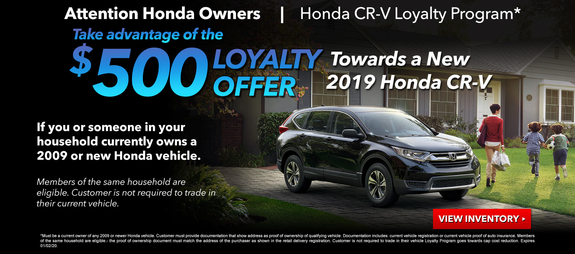 CRV Loyalty