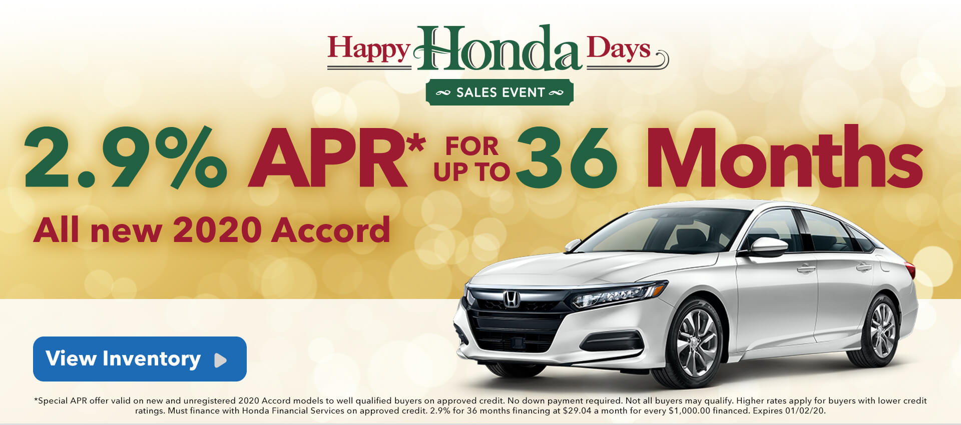 2.9 APR Accord