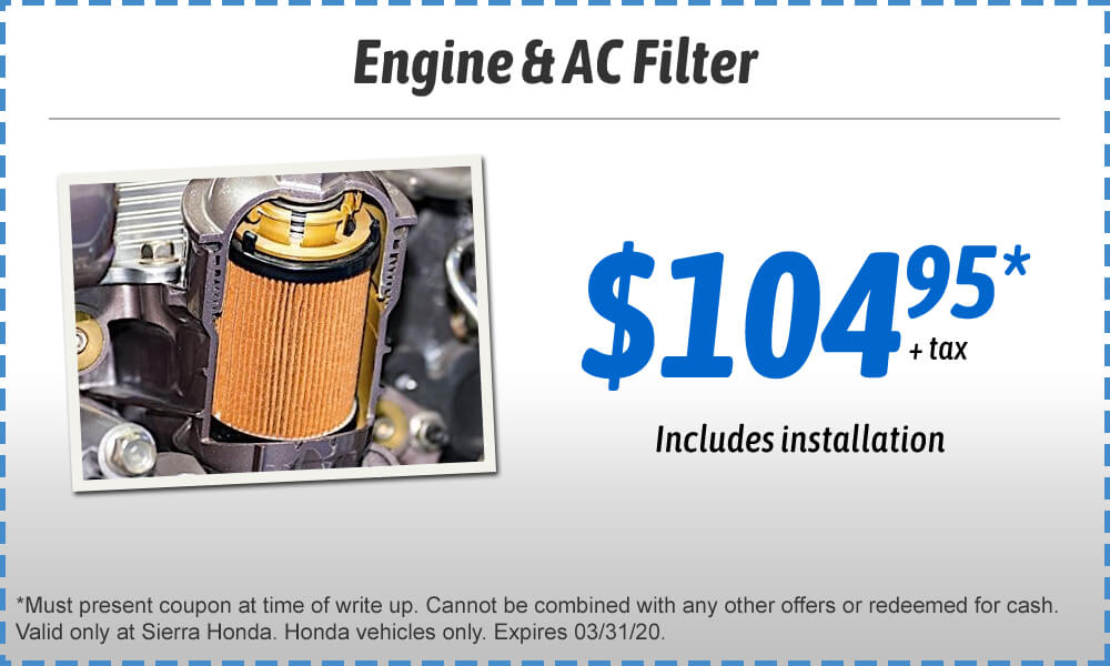 Engine & AC Filter