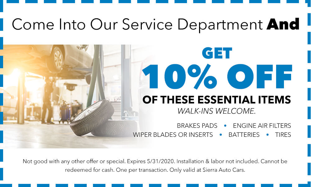 10% Off Essential Items