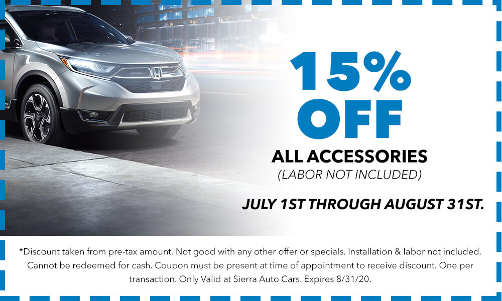 15% Off All Accessories