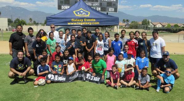 Ross Nissan El Monte U2013 Youth Soccer Clinic