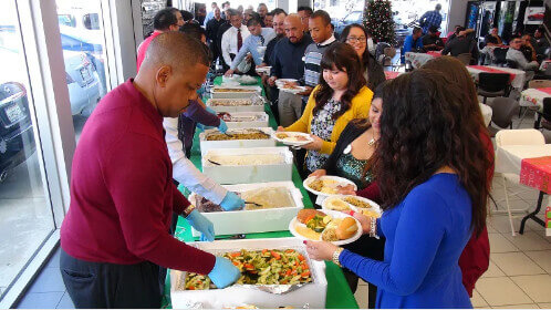 Ross Nissan Employee Christmas Lunch. TAGS. Ross Nissan El Monte ,