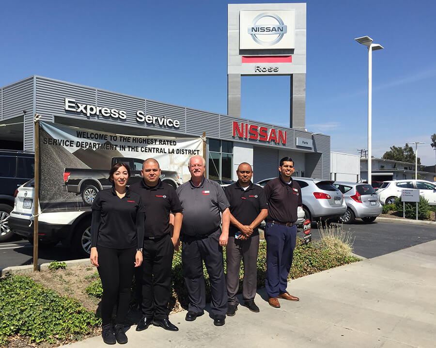 Ross Nissan Has The Highest Rated Service Department In The Central L.A.  District | July 2018