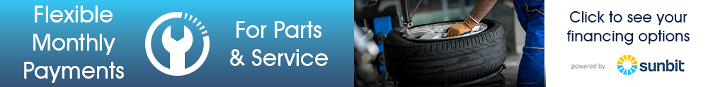Finance Parts or Service