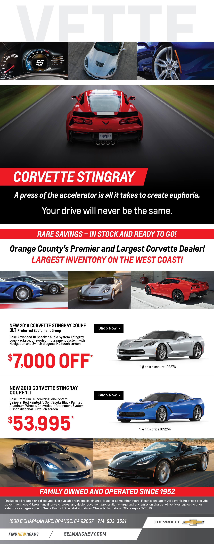 Corvette Specials