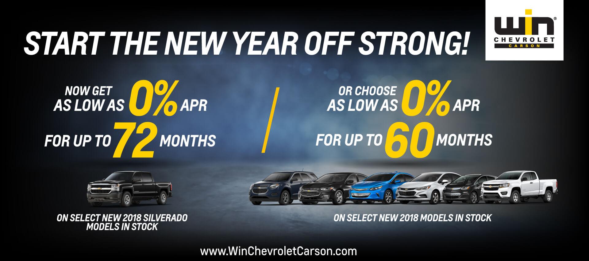 Win Chevy Start The Year